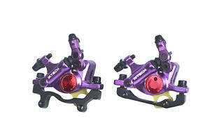 Zoom Xtech Bicycle Hybrid Hydraulic Disc Rotor Brake Set for Road/MTB/E-Bike use