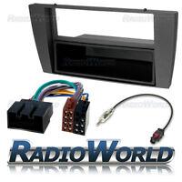 Jaguar X / S Type SIngle Din Stereo Radio Fitting Kit Fascia Panel Adapter Lead
