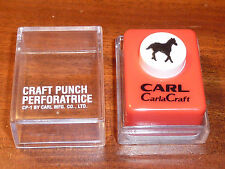 CP-1 Carl carla Craft MFG punch PERFORATRICE jouet JEU horse CHEVAL pferd TOY