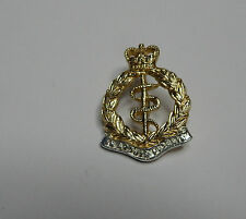 post 1965 Royal Army Medical Corps Staybrite Collar Badge   Genuine issue