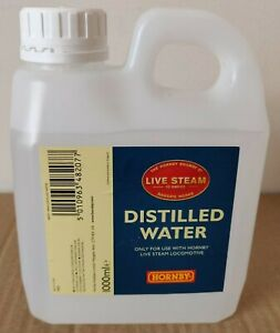 Hornby R8207 Distilled Water (1000ml) for use only with Hornby Live Steam  NEW