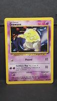 Drowzee 49 Base Set Common Pokemon Card Near Mint