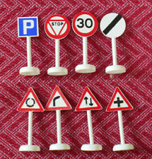 Vintage Lego 8 road signs  unboxed