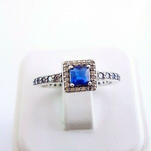 925 Sterling Silver CZ Ring Stackable Size 7.5 NEW Shop Style Minimalist Jewelry