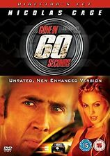 Gone In 60 Seconds - Directors Cut [DVD], , Used; Very Good DVD