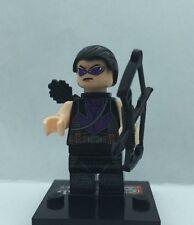 Hawkeye Minifig Marvel Movie Figure Avenger Black Leg Barton Jeremy Renner Ultro