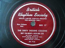 Jazz 78 ('50 prs) MEMPHIS NIGHT HAWKS as ROY PALMER'S SIZZLING 6 Nancy Jane HEAR