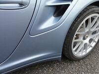 CLEAR stone guard set Porsche 911 997 Turbo Genuine quality Polyurethane film