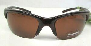 FG Solar Comfort Polarized Sunglasses 6W213155T Brown, New, see description