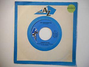 hommage au chanteur CHRISTOPHE - 45t ORIGINAL : LES MARIONNETTES (AZ) PORT 0€ ▓