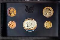 1969-S US MINT PROOF SET NICE COLOR BU TONED CHOICE UNC GEM #28 (DR)