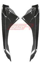 BMW S1000RR Upper Side Infill Panel Cover Fairings (100%) Carbon Fiber Fibre