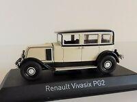 Renault Vivasix Pg2 1928 Crema 1/43 Norev 519515 Tipo Pg