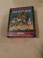 PRIVATE EYE by ACTIVISION for ATARI 2600 ▪︎ CARTRIDGE ONLY ▪︎ FREE SHIPPING ▪︎