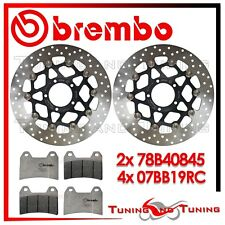 Dischi Freno Anteriore BREMBO + Pastiglie RC DUCATI HYPERMOTARD 796 2011 2012 12