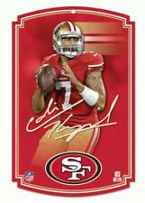Colin Kaepernick San Francisco 49 Ers Wood Wall Picture 16 7/8in,Nfl