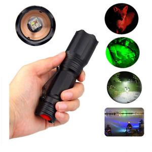 New USB Charging LED Flashlight Retractable Zoom Mini Flashlight 4 Light Source