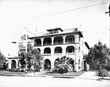 Photo. ca 1911. Pasadena, California.  Hotel Guirnalda