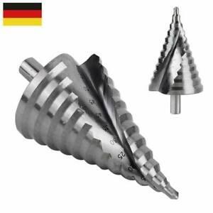 6- 60mm HSS Titan Fräser Senker Stufenbohrer Konusbohrer Schälbohrer Kegelbohrer