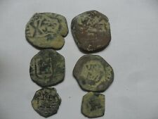 lote de 6 monedas medievales,lot.3