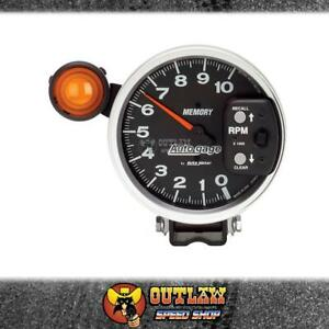 """AUTOMETER AUTOGAUGE 5"""" MONSTER TACHO 10,000 RPM MEMORY EXT SHIFTLIGHT - AU233906"""