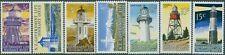 New Zealand Life Insurance 1969 SGL56-L62 Lighthouses set MNH