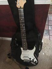 Fender Standard Stratocaster Electric Guitar (Black)