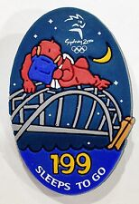 199 SLEEPS TO GO SYD MASCOT RUBBER SYDNEY OLYMPIC GAMES 2000 PIN COLLECT #852