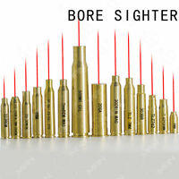 CAL Brass Red Dot Laser Cartridge Ammo Bullet Bore Sighter Boresight For Rifle