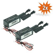 2x STEUERGERÄT CCFL INVERTER ANGEL EYES BMW 3 5 7 E34 E36 E38 E39 E46 E53 X3 E83