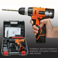 12V Electric Wireless Drill Driver Sensational Electric Drill  With Bits Set NEW