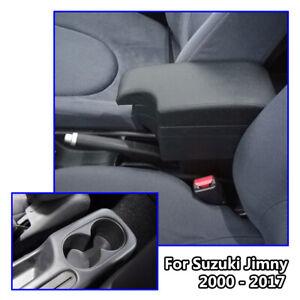 Car Leather New Styling Console For Suzuki Jimny 2000-2017 Armrest USB 2005