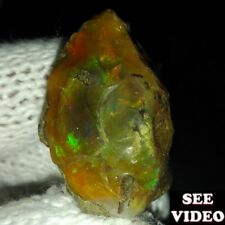 NEW FOUND 100% NATURAL RARE AFRICAN Fire OPAL ROUGH  78.40 ct SEE VIDEO