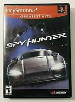 SpyHunter Greatest Hits Sony PlayStation 2, 2002 Complete