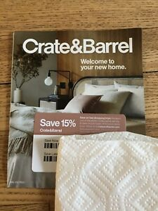 Crate and Barrel coupon 15% Off