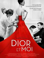 Affiche 40x60cm DIOR ET MOI /DIOR AND I (2015) Raf Simons - Documentaire TBE