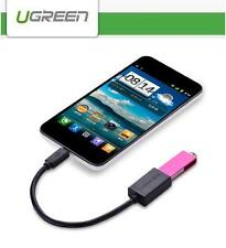 UGREEN USB 2.0 A Female to Micro B Male Converter OTG Adapter Cable Tablet Phone