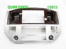 06-08 Dodge Ram 1500 2500 3500 & 2009 2500 3500 GPS Dash Radio Bezel MOPAR OEM