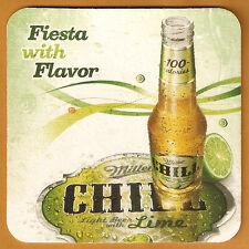 16 Miller Chill Fiesta With Flavor Beer  Coasters