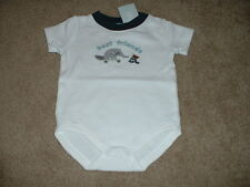 Size 0-3 months mos NWT Anteater Pal Bodysuit Top NEW Baby Boy Clothes Gymboree