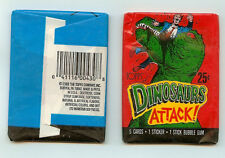 1988 Topps Dinosaurs Attack  single Wax Pack