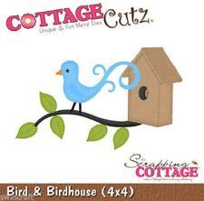 Cottage Cutz muere - 3D incl. pájaro Espuma de liberación Die & Birdhouse-CC4x4-016 *