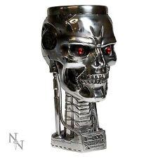 Terminator 2 T800 Head Goblet Nemesis Now 17.5cm High