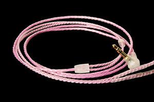 Handmade OCC Silver Upgrade Audio Cable For Sennheiser IE80 IE8i IE8 IE80S