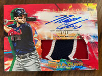 Michael Chavis 2020 Topps Inception Auto Jersey Patch /25 RC Boston Red Sox