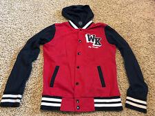 Women's Wiz Khalifa Track Jacket Small Hoodie Snap Cotton Blend Rap Hip Hop
