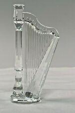Retired Swarovski Austrian Crystal Harp #169245 in Box