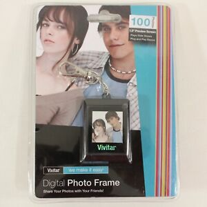 "Vivitar Digital Photo Frame Black 1.5"" Screen"