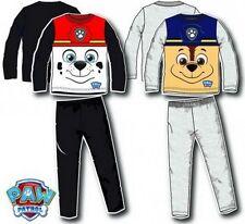 Paw Patrol Pyjama Schlafanzug Fleece Kinder Chase Marshall 4 Größen 98 - 116