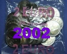 Pièces euros du Portugal Année 2002